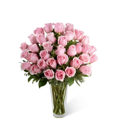 The FTD® Pink Rose Bouquet - Exquisite