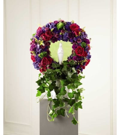 The FTD® Faith & Understanding™ Wreath
