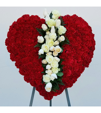 Deep Red Heart