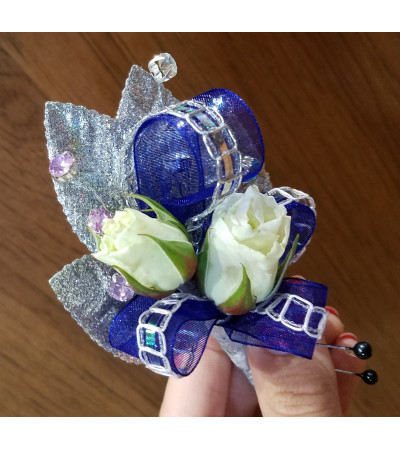 Flare at Midnight Boutonniere