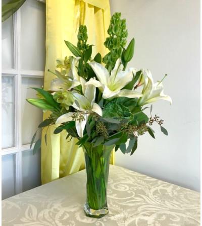 Majestic Green Bouquet