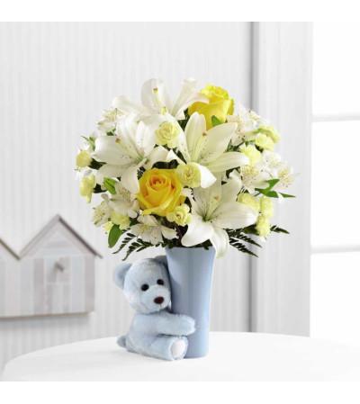 The Baby Boy Big Hug® Bouquet