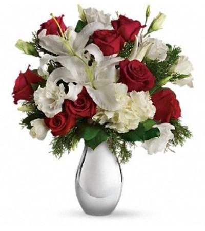 Silver Noel Bouquet