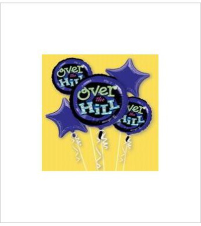 Over The Hill Balloon Bouquet