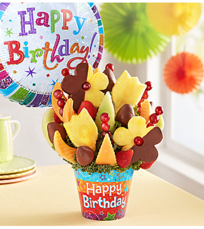 Birthday Bonanza With Chocolate