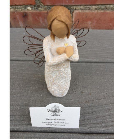 WILLOW TREE ANGEL - Rembrance