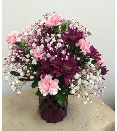 Berry Cylinder Bouquet