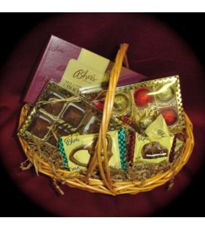 Asher's Chocolates Basket