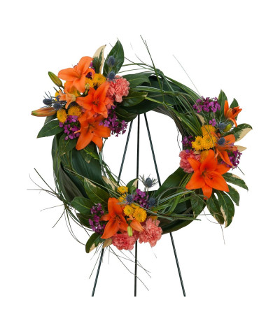 Remembering the Simple Good Times Wreath