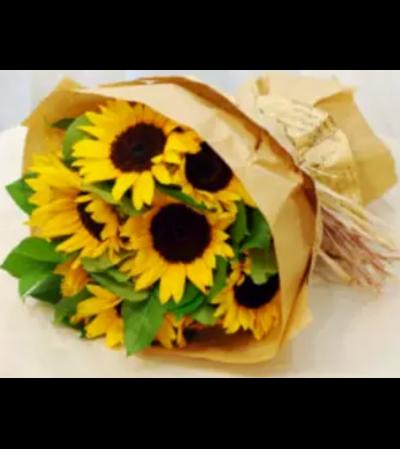 Bright Sunflower Bouquet