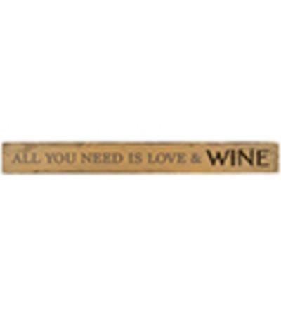 Love & Wine Message Bar