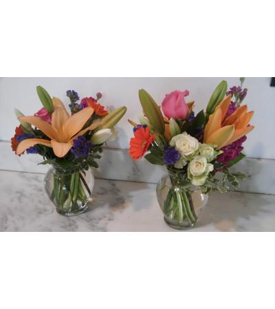 Small desk vases (2-4)