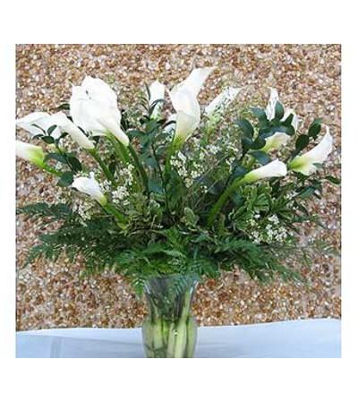 White Calla Lilies [GF-VCF001] $200.00