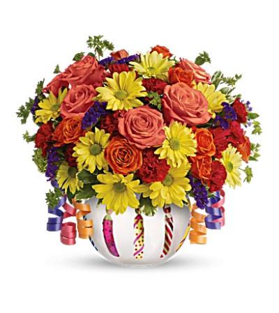 Brilliant Birthday Blooms