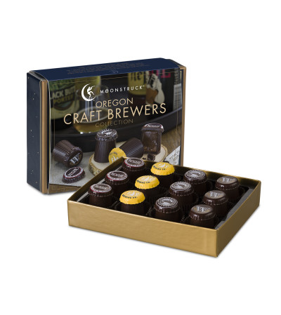 Oregon Brewers Collection 12 piece gourmet chocolate