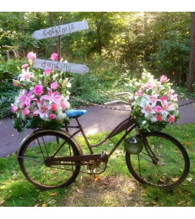 BIKE FLOWERS