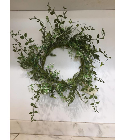 Queen Anne's Lace Wreath