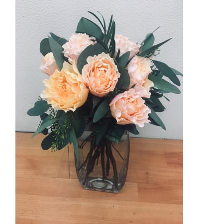 English Garden Rose Floral Arrangement