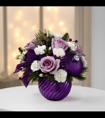Purple Ornament Arrangement