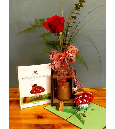 LOVE...LovePop Card with Arrangement