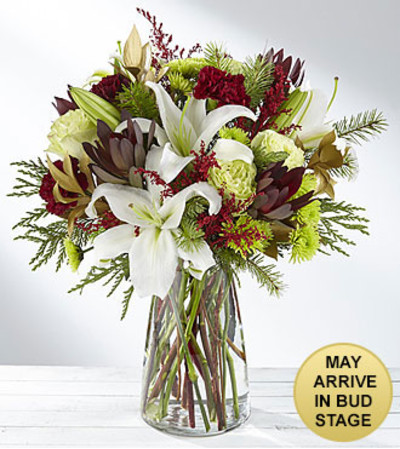 Winter Brights Holiday Bouquet