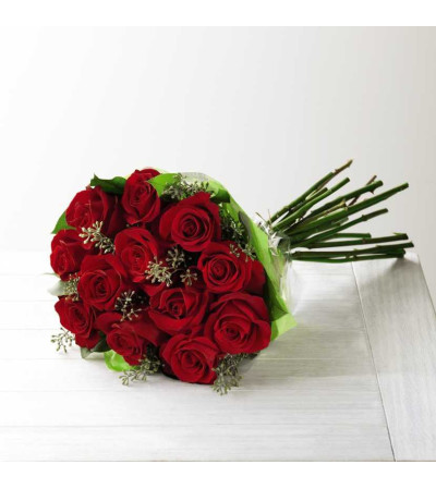 FTD hand tied rose bouquet