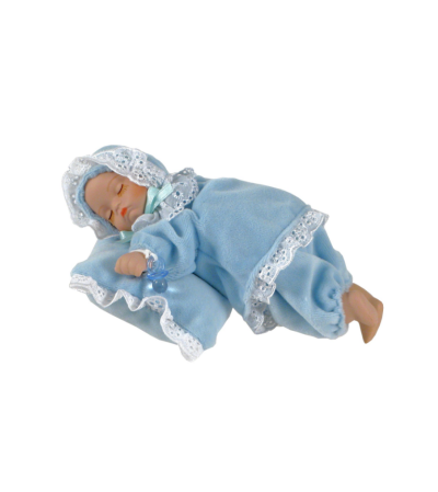 Musical Sleeping baby boy Keepsake I