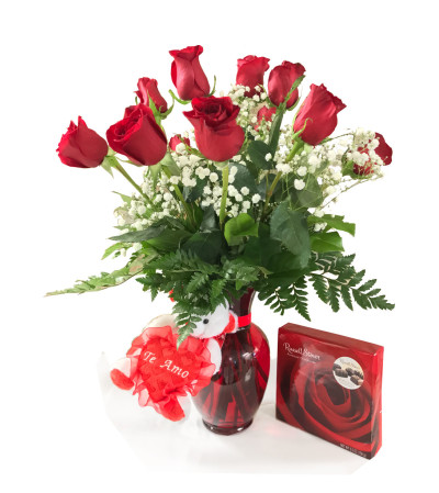 Dozen Roses Bundle Standard