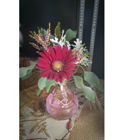 Gerber Daisy Bud Vase