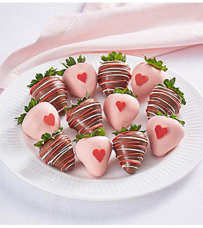 Valentine Wishes Dipped Strawberries