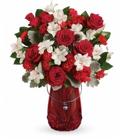 Red Haute Bouquet