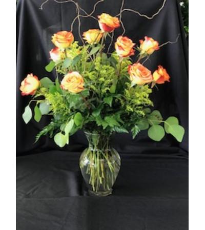 12 Circus roses