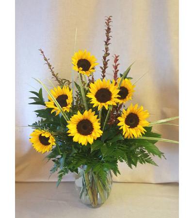 Radiant Sunflowers