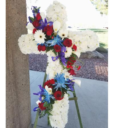 Military Garland Cross