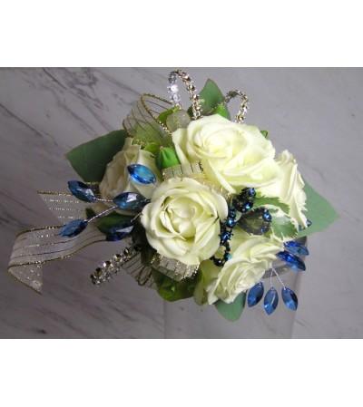 White and Blue Dazzle
