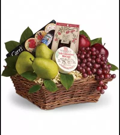 Delicious Delights Basket by Teleflora