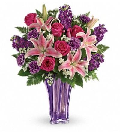 Lavish Lavender Arrangement