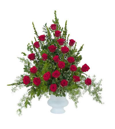 Royal Rose Urn DW