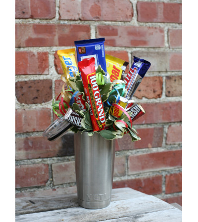 YETI Candy Bouquet