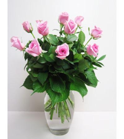 Sweet 1 Dz. Pink Roses