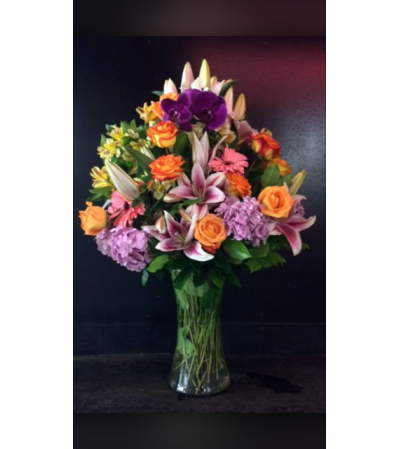 Purple Elegance Bouquet