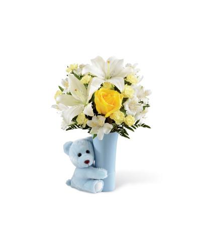 The FTD® Baby Boy Big Hug® Bouquet