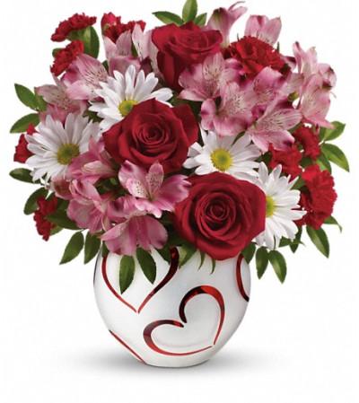 Teleflora's Happy Hearts Bouquet