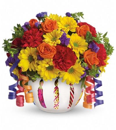 Teleflora's Brilliant Birthday Blooms
