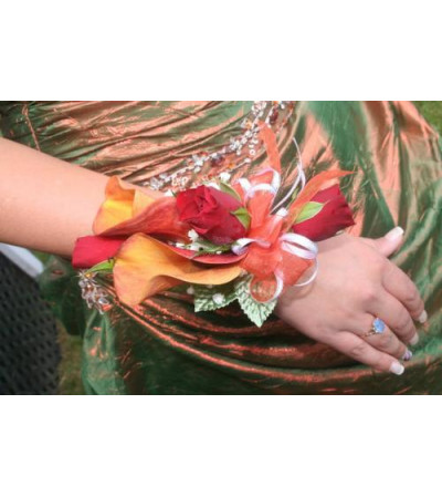 Sunkissed Corsage