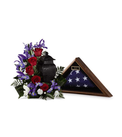 The FTD® Patriotic Tribute™ Arrangement