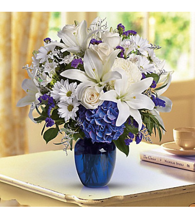 Teleflora's Beautiful in Blue