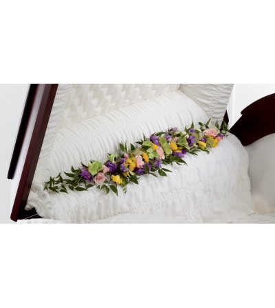 The FTD® Trail of Flowers™ Casket