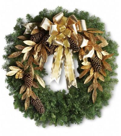 Glitter & Gold Wreath