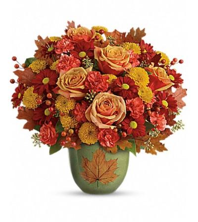 Teleflora's Heart Of Fall Bouquet